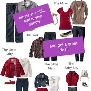 Bundle your outfit and get a great deal!